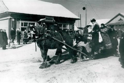 Проводы русской зимы. Тоншаево, середина 60-х годов