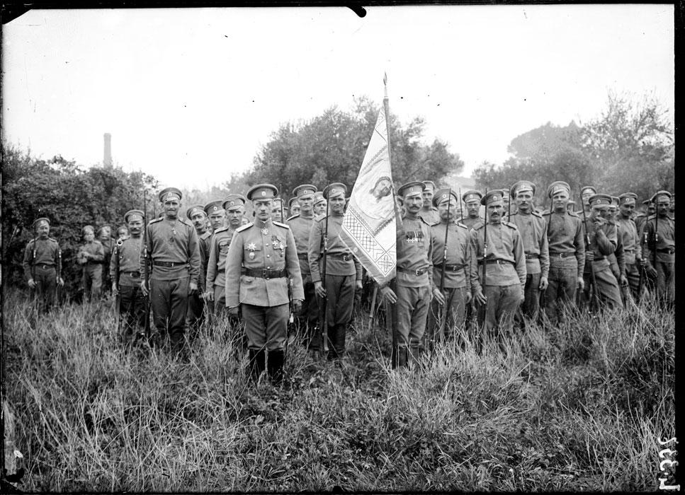 Первый полк 1 особой бригады русского эксп.корпуса